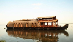 Houseboat in kumarakom